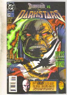 Darkstars #31 comic book near mint 9.4