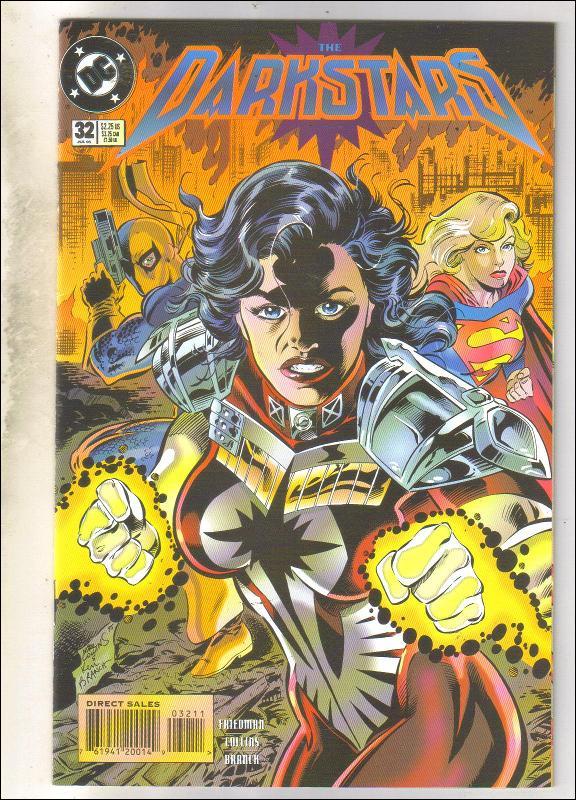 Darkstars #32 comic book near mint 9.4