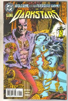 Darkstars #35 comic book near mint 9.4