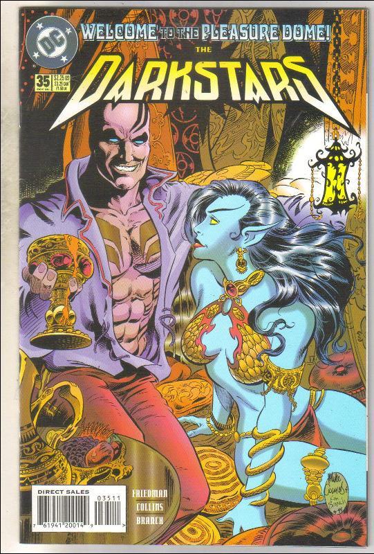 Darkstars #35 comic book near mint 9.4