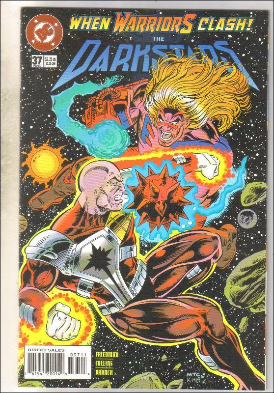 Darkstars #37 comic book near mint 9.4