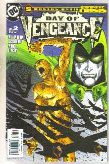 Day of Vengeance #2 comic book near mint 9.4