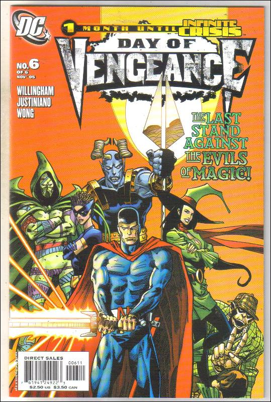 Day of Vengeance #6 comic book near mint 9.4