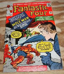 Fantastic Four #22 comic book very good/fine 5.0