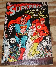 Superman #199 comic book good/very good 3.0