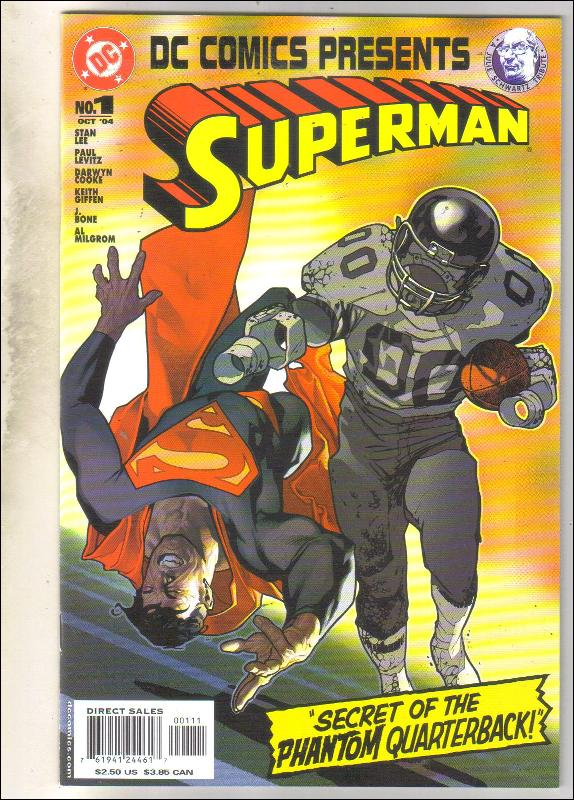 DC Comics Presents Superman #1 comic book mint 9.8