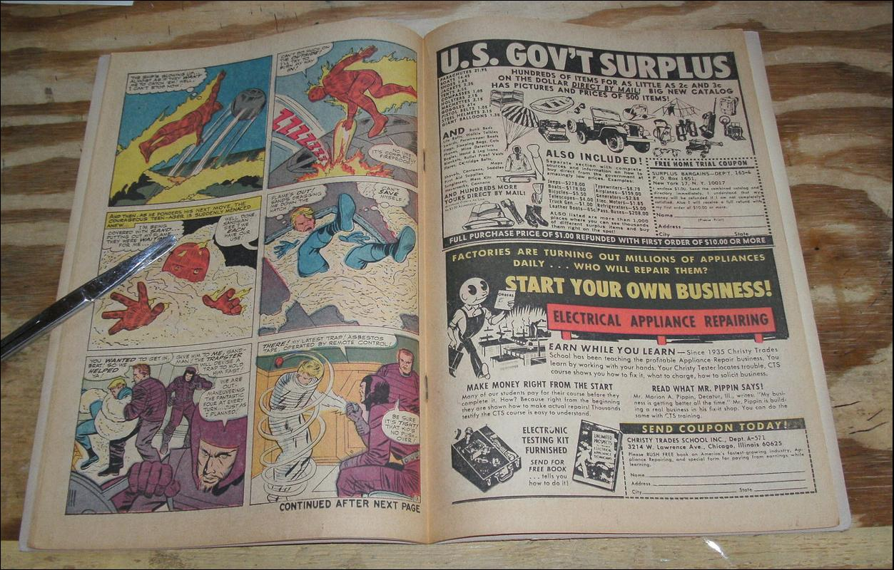 Fantastic Four #38 comic book very fine 8.0