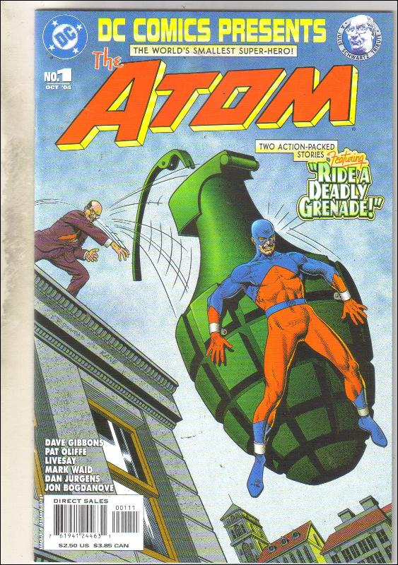 DC Comics Presents #1 The Atom comic book near mint 9.4