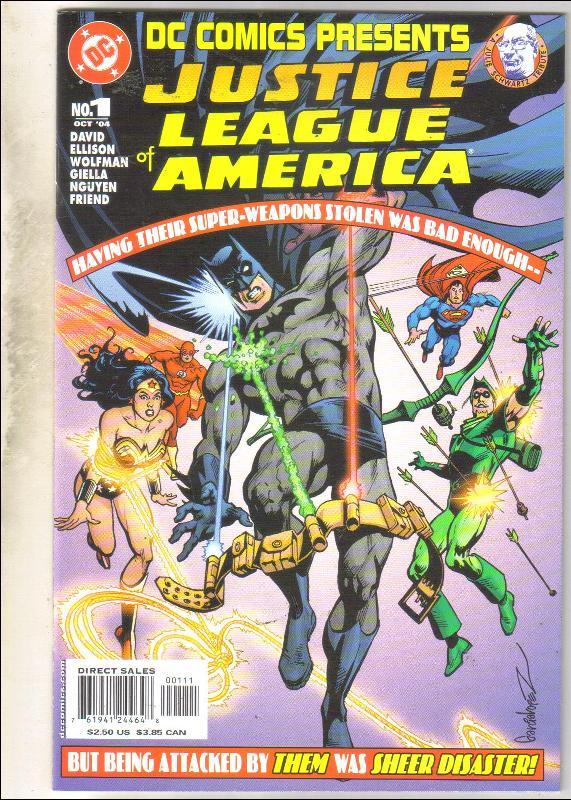 DC Comics Presents #1 Justice League of America comic book near mint 9.4