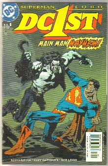 DC1ST Superman Lobo #1 comic book mint 9.8