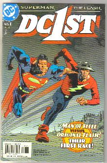 DC1ST Superman Flash #1 comic book mint 9.8