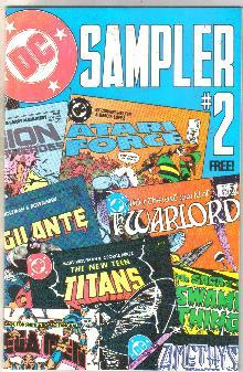 DC Sampler #2 comic book mint 9.8