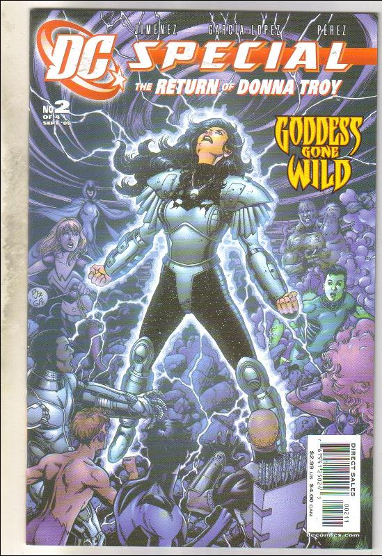 DC Special #2 (Donna Troy) comic book mint 9.8