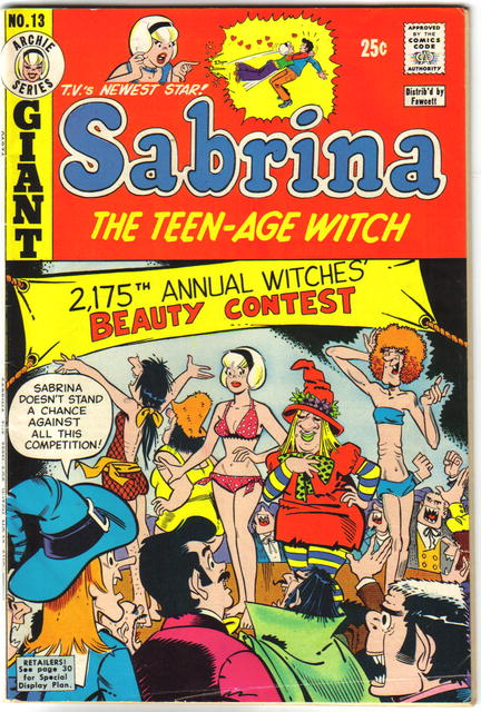 Sabrina the Teen-age Witch #13 comic book vg/fn 5.0