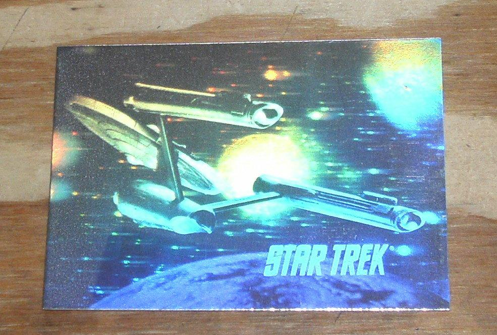 Star Trek hologram card