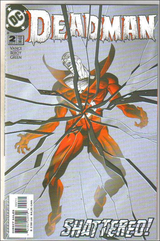 Deadman #2 comic book mint 9.8