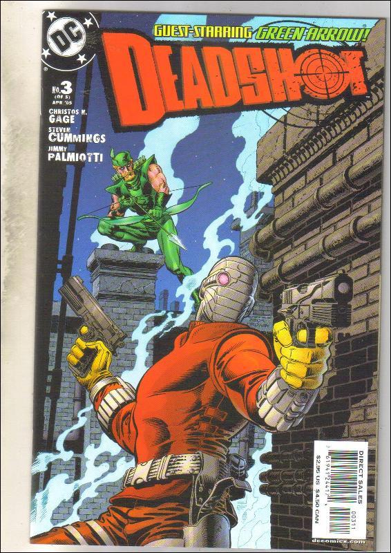 Deadshot #3 comic book mint 9.8