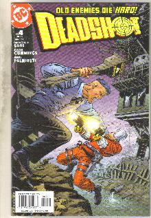 Deadshot #4 comic book mint 9.8