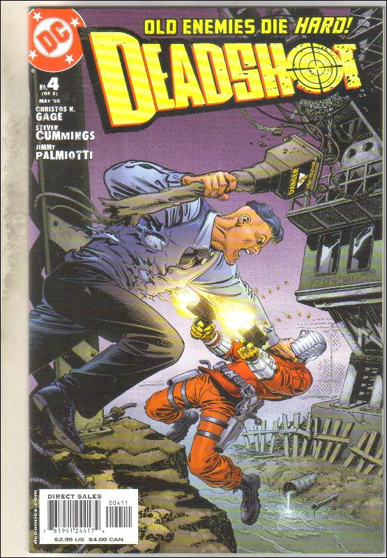 Deadshot #4 comic book mint 9.8