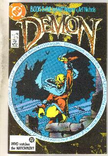 Demon #1 comic book near mint 9.4