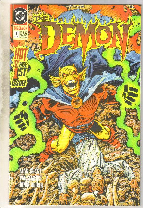 Demon 1990 #1 comic book near mint 9.4