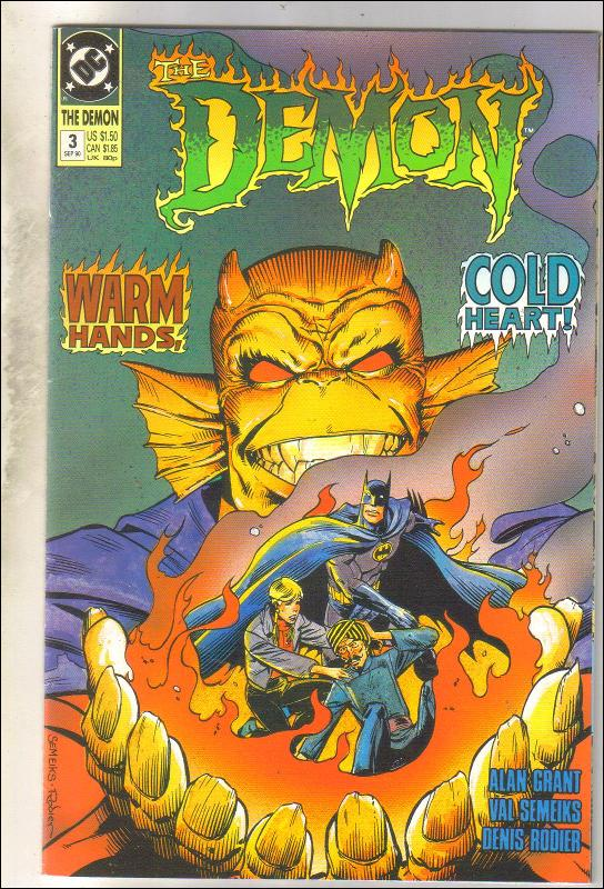 Demon 1990 #3 comic book near mint 9.4