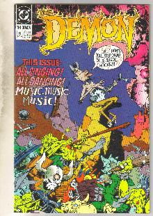 Demon 1990 #6 comic book near mint 9.4