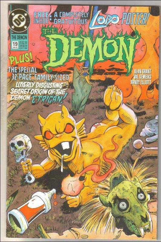 Demon 1990 series #19 comic book near mint 9.4
