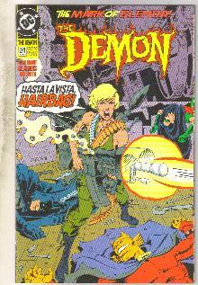 Demon 1990 series #24 comic book near mint 9.4