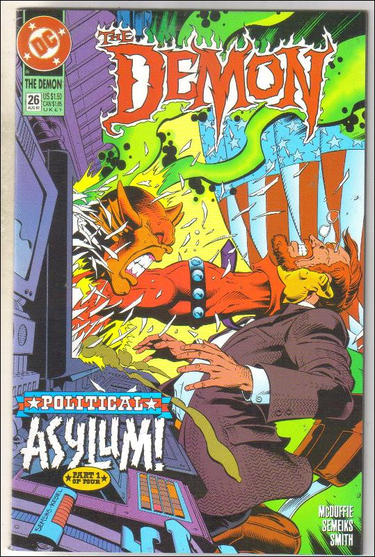 Demon 1990 series #26 comic book near mint 9.4