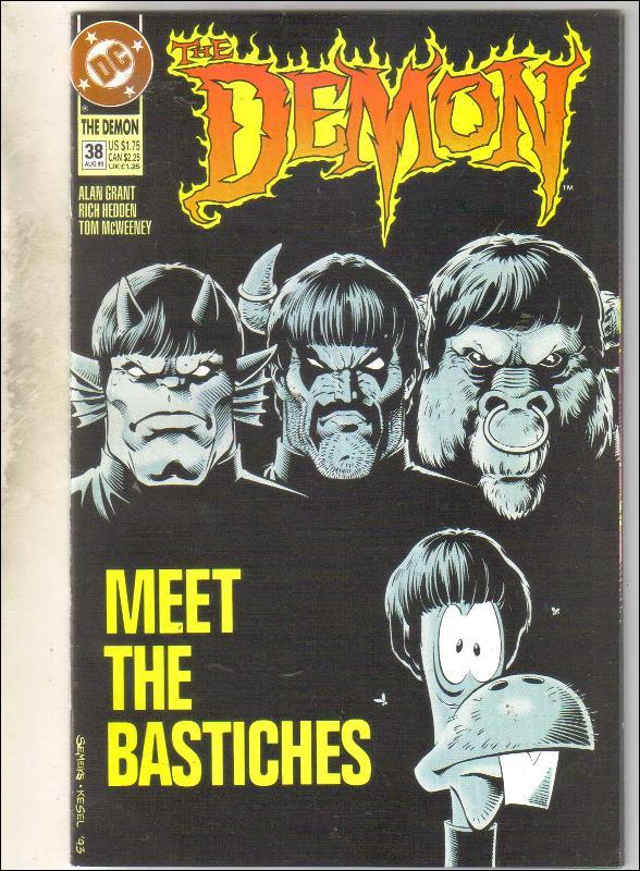Demon 1990 series #38 comic book near mint 9.4