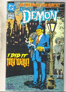 Demon 1990 series #39 comic book near mint 9.4