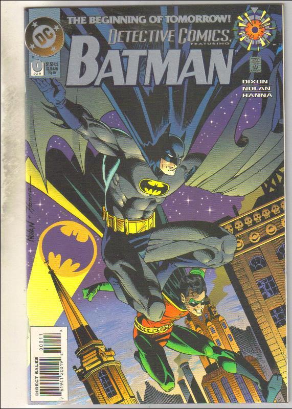 Detective Comics #0 comic book near mint 9.4