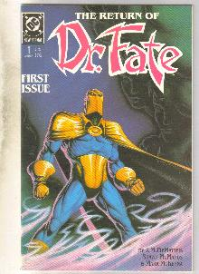 Dr. Fate #1 comic book near mint 9.4