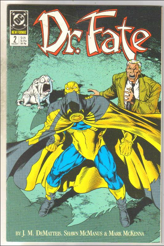 Dr. Fate #2 comic book near mint 9.4