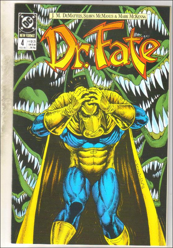Dr. Fate #4 comic book near mint 9.4