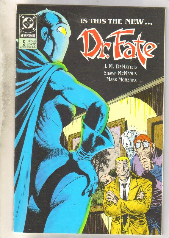 Dr. Fate #5 comic book mint 9.8