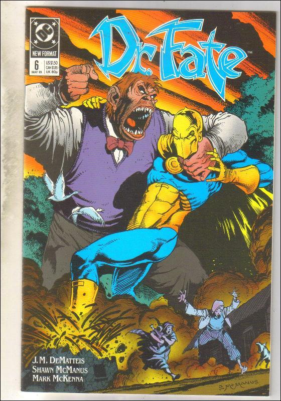 Dr. Fate #6 comic book mint 9.8