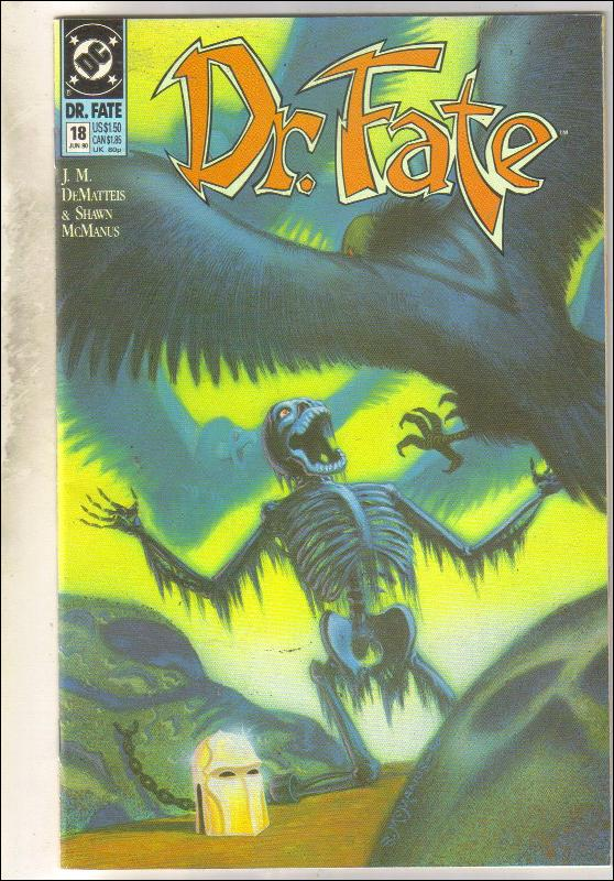 Dr. Fate #18 comic book mint 9.8