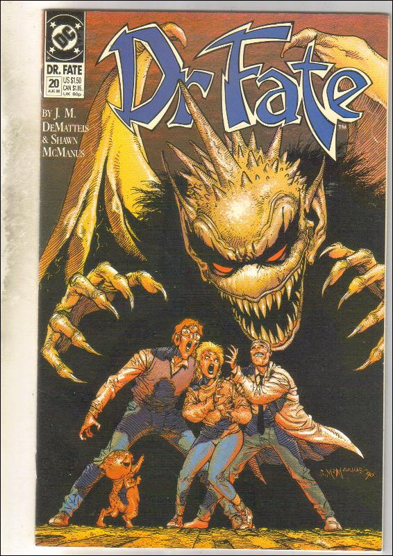 Dr. Fate #20 comic book very fine 8.0