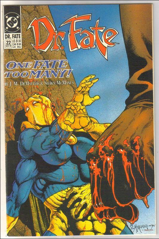 Dr. Fate #22 comic book mint 9.8