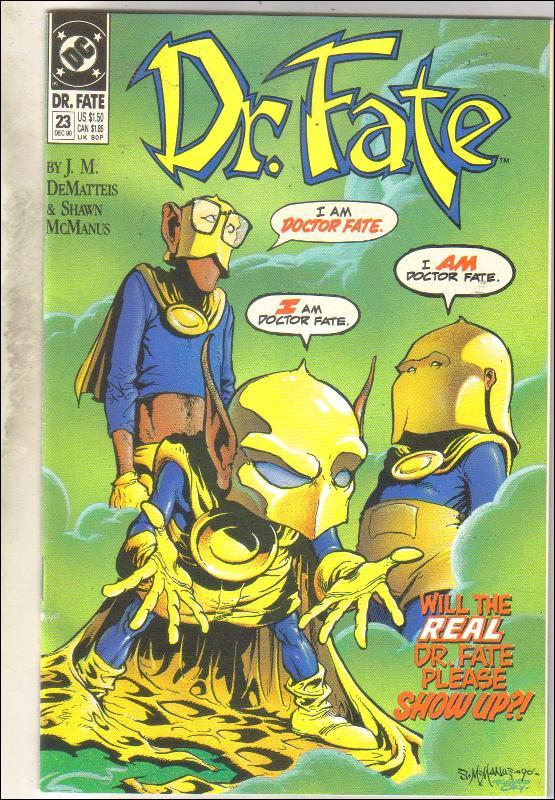 Dr. Fate #23 comic book near mint 9.4