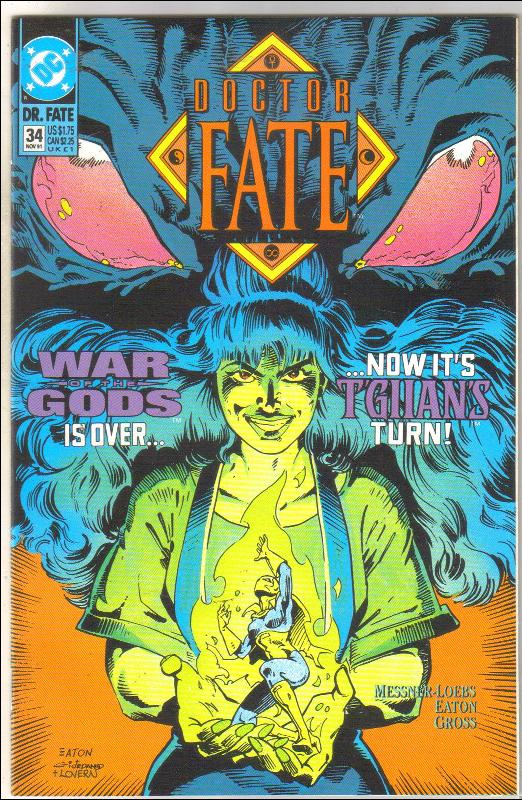 Doctor Fate #34 comic book mint 9.8