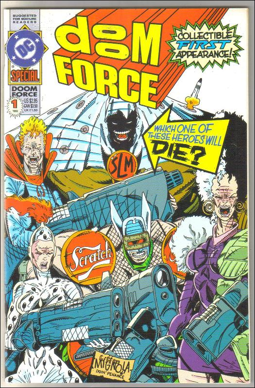 Doom Force Special #1 comic book mint 9.8