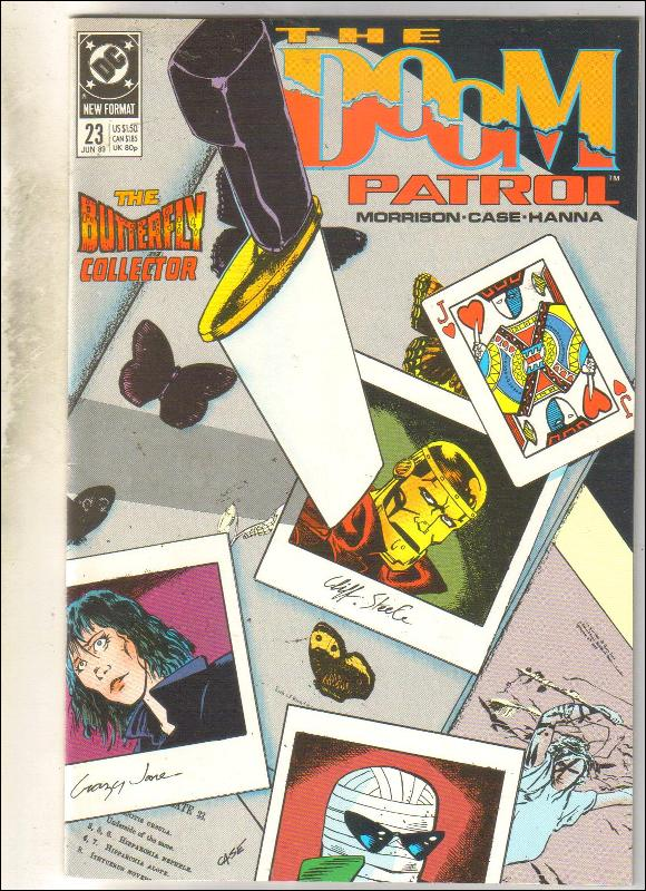 Doom Patrol #23 comic book near mint 9.4