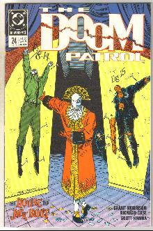 Doom Patrol #24 comic book near mint 9.4