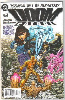 Doom Patrol #2 comic book mint 9.8