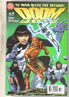 Doom Patrol #3 comic book mint 9.8