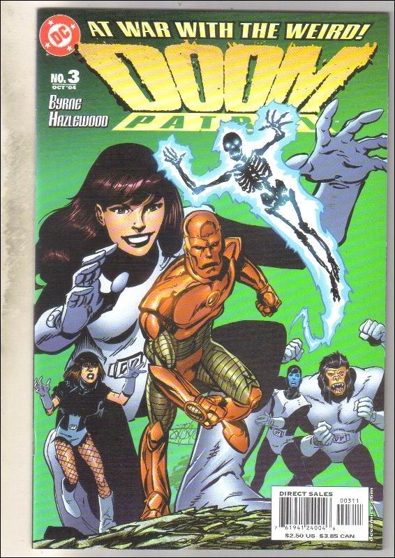 Doom Patrol #3 comic book mint 9.8