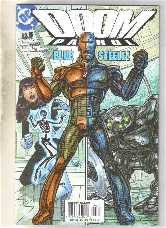 Doom Patrol #5 comic book mint 9.8
